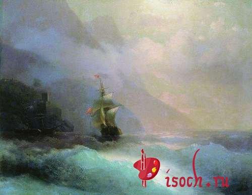 Картина И.К. Айвазовского «Морской пейзаж»