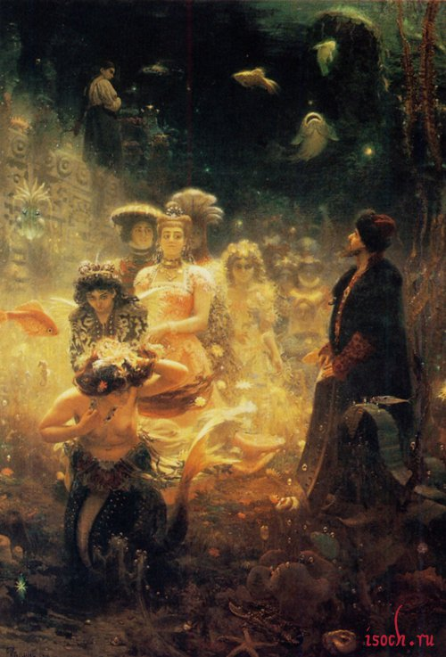 Картина И.Е. Репина «Садко»