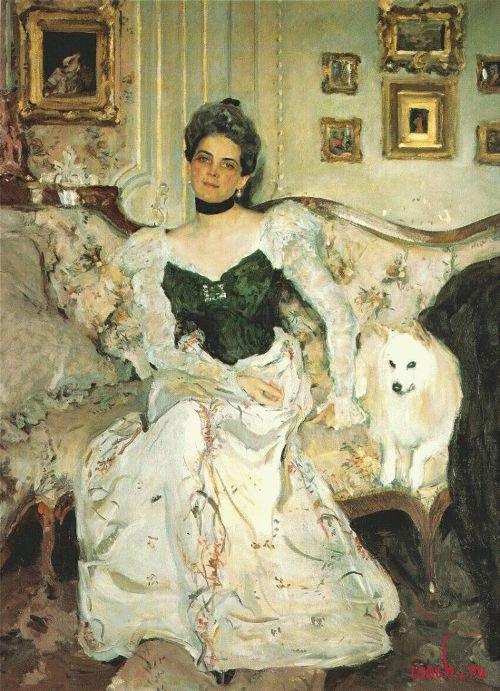 Картина В.А. Серова «Портрет княгини З.Н. Юсуповой»