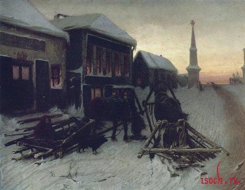 Картина В.Г. Перова «Последний кабак у заставы»
