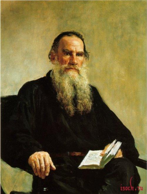 Картина И.Е. Репина «Портрет Л.Н. Толстого»