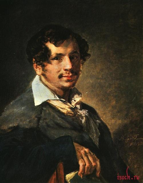Картина В.А. Тропинина «Портрет певца П.А. Булакова»