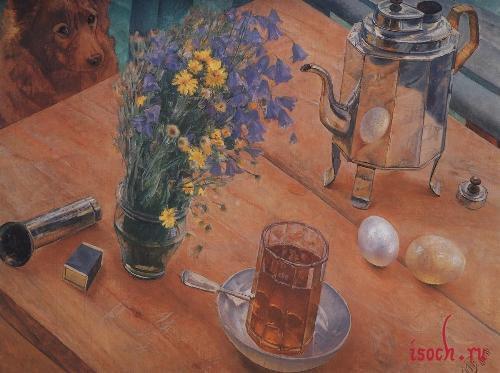 Картина К.С. Петрова-Водкина «Утренний натюрморт»