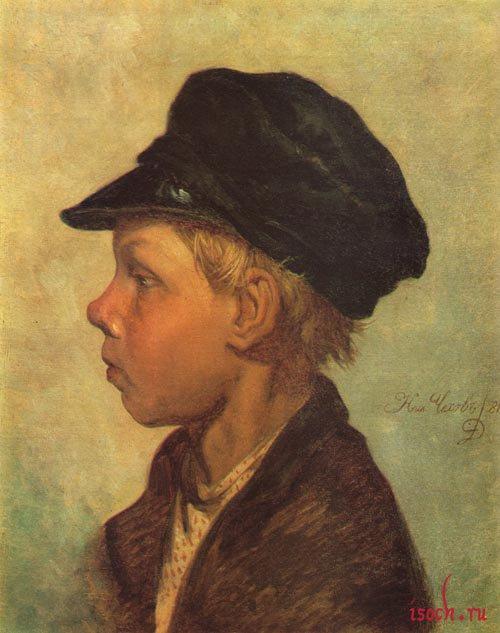 Картина Н.П. Чехова «Крестьянский мальчик (Ванька Жуков)»