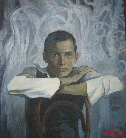 Картина Е. Симбирина «Поэт Г. Тукай»