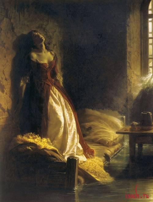 Картина К. Флавицкого «Княжна Тараканова»