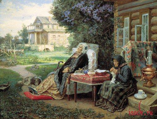 Картина В.М. Максимова «Все в прошлом»