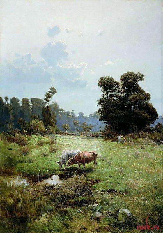 Картина С.И. Васильковского «Казачья левада»