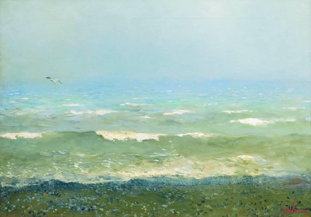 Картина И.И. Левитана «Берег Средиземного моря»