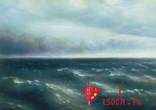 Картина И.К. Айвазовского «Черное море»
