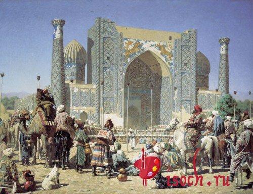 Картина В.В. Верещагина «Торжествуют»