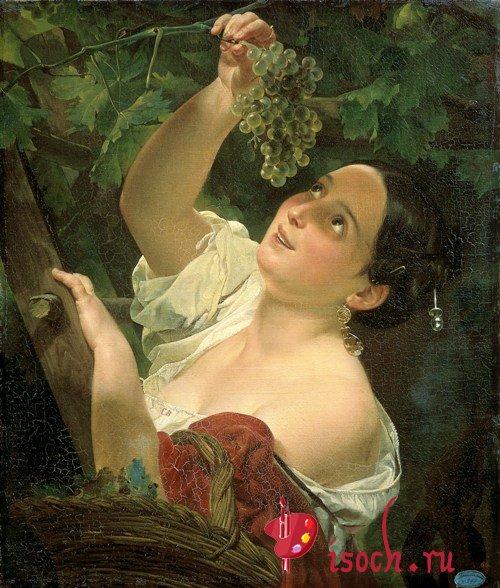 Картина К.П. Брюллова «Итальянский полдень»