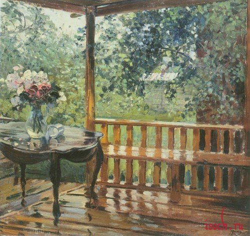 Картина А.М. Герасимова «После дождя»