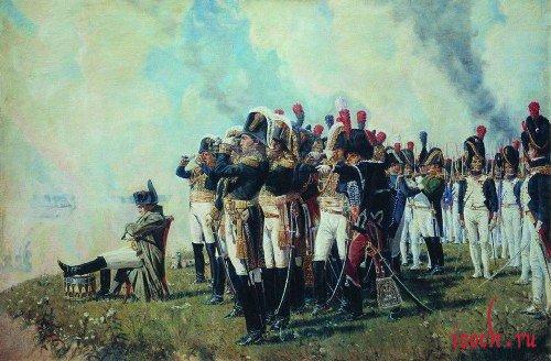 Картина В.В. Верещагина «Наполеон на Бородинских высотах»
