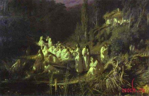 Картина И.Н. Крамского «Майская ночь»