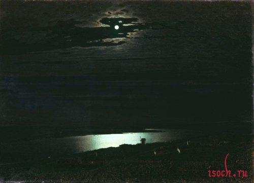 Картина А.И. Куинджи «Лунная ночь на Днепре»