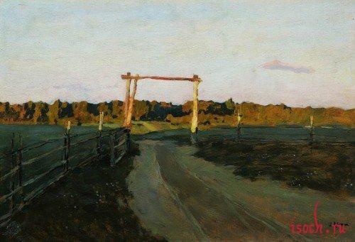 Картина И.И. Левитана «Летний вечер»