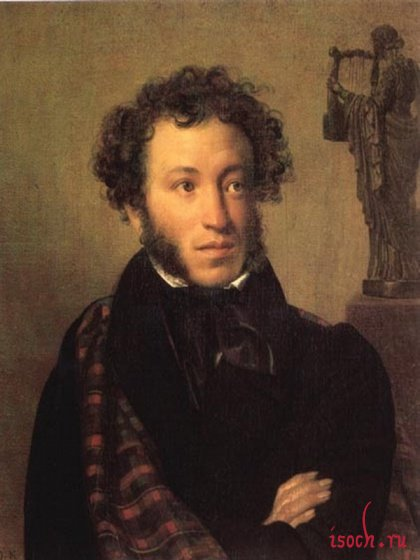 Картина О.А. Кипренского «А.С. Пушкин»