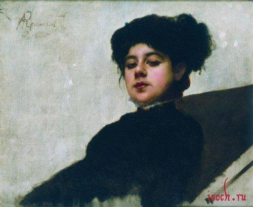 Картина И.Н. Крамского «Неизвестная»