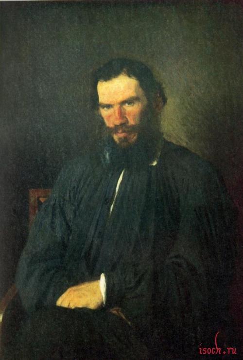 Картина И.Н. Крамского «Портрет Л.Н. Толстого»