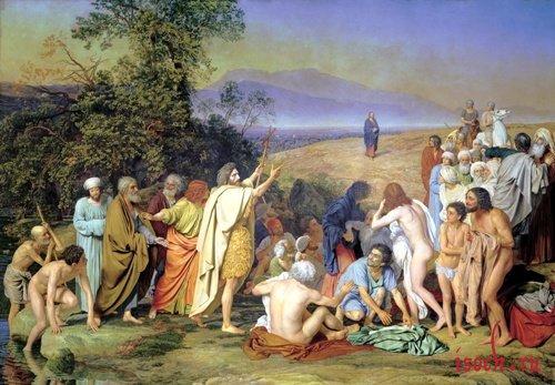 Картина А.А. Иванова «Явление Христа народу»