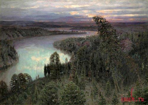Картина В.М. Васнецова «Северный край»