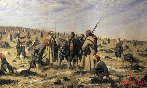 Картина В.В. Верещагина «Победители»
