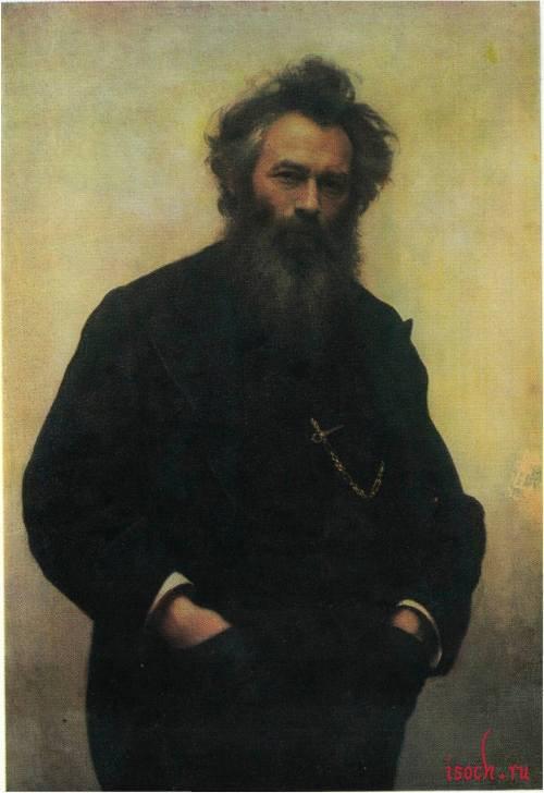 Картина И.Н. Крамского «Портрет И.И. Шишкина»