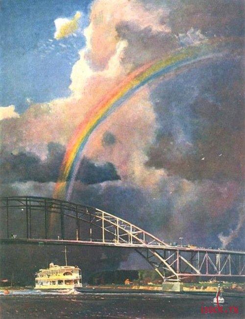 Картина Г.Г. Нисского «Радуга»