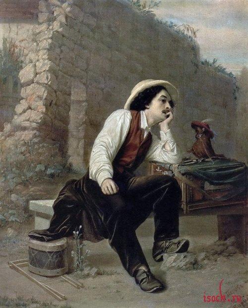 Картина В.Г. Перова «Шарманщик»