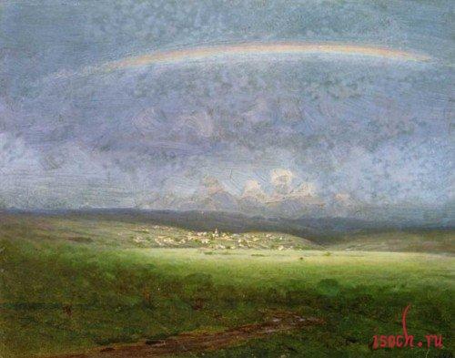 Картина А.И. Куинджи «После дождя»