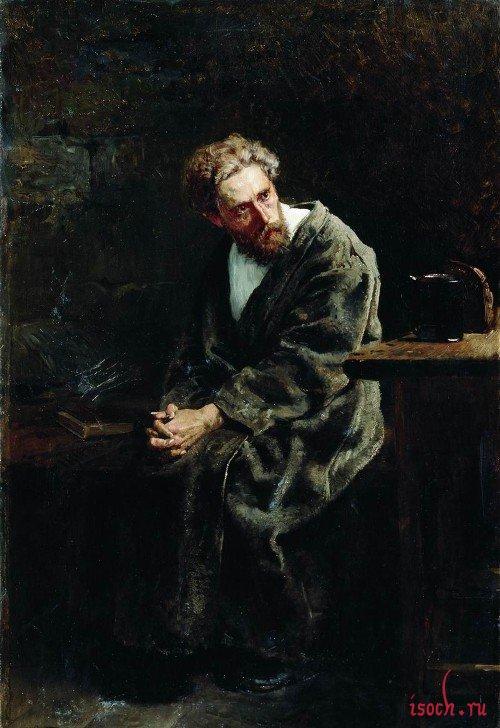 Картина В.Е. Маковского «Узник»