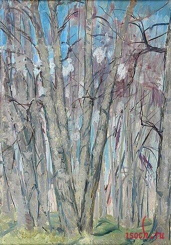 Картина Н.М. Ромадина «Весенний воздух»