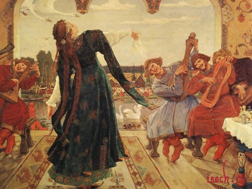 Картина В.М. Васнецова «Царевна-лягушка»