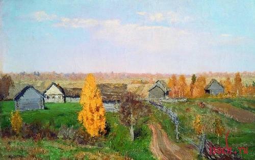 Картина И.И. Левитана «Тишина»