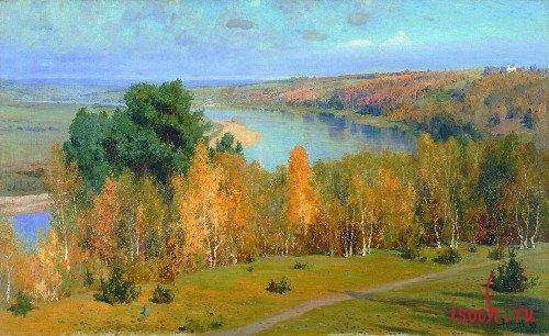 Картина В.Д. Поленова «Золотая осень»