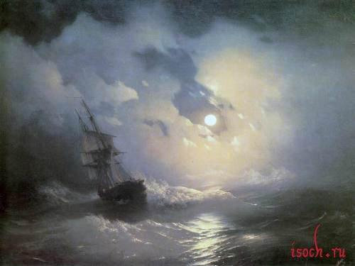 Картина И.К. Айвазовского «Море»