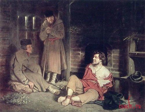 Картина В.Г. Перова «Отпетый»