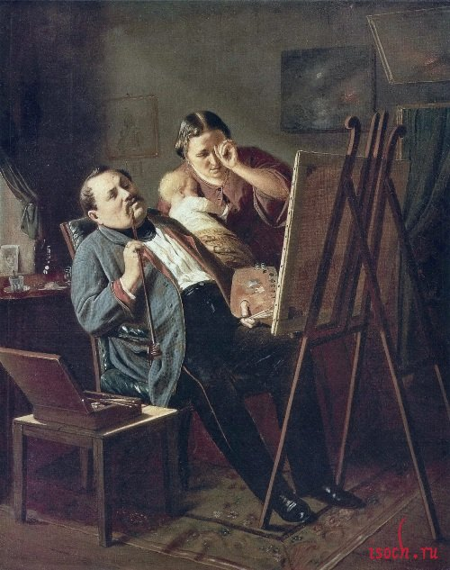 Картина В.Г. Перова «Дилетант»