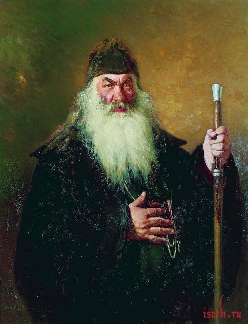 Картина И.Е. Репина «Протодиакон»