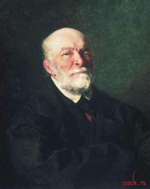 Картина И.Е. Репина «Портрет Н.И. Пирогова»