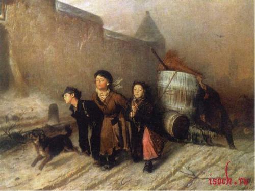Картина В.Г. Перова «Тройка»