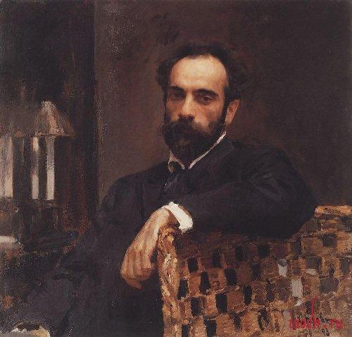 Картина В.А. Серова «Портрет И.И. Левитана»