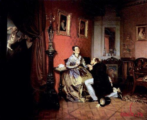 Картина П.А. Федотова «Разборчивая невеста»