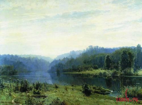 Картина И.И. Шишкина «Туманное утро»
