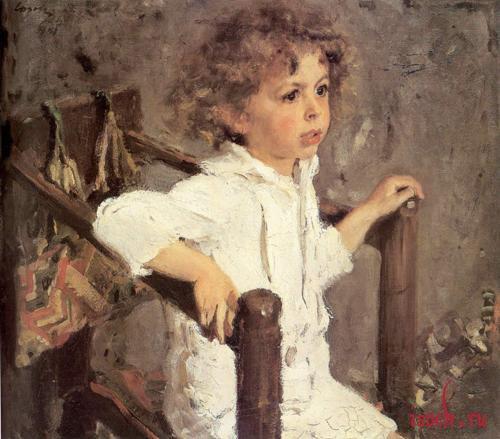 Картина В.А. Серова «Мика Морозов»