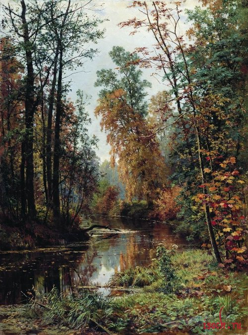 Картина И.И. Шишкина «Парк в Павловске»