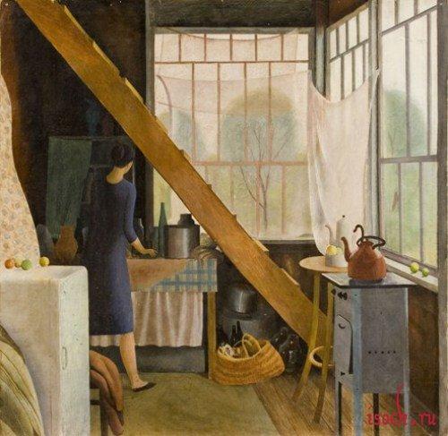Картина И. Шевандровой «На террасе»