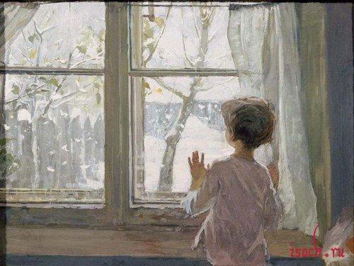 Картина С.А. Тутунова «Зима пришла»