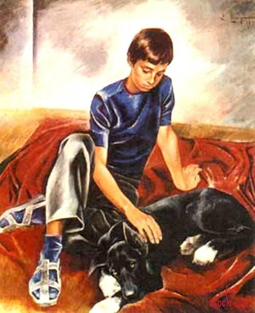 Картина Е. Широкова «Друзья»